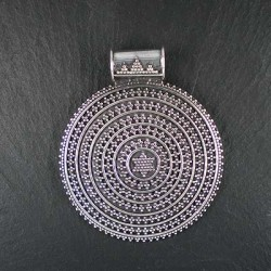Silberanhänger rund (S9)