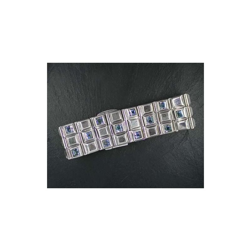 Blautopas Armband
