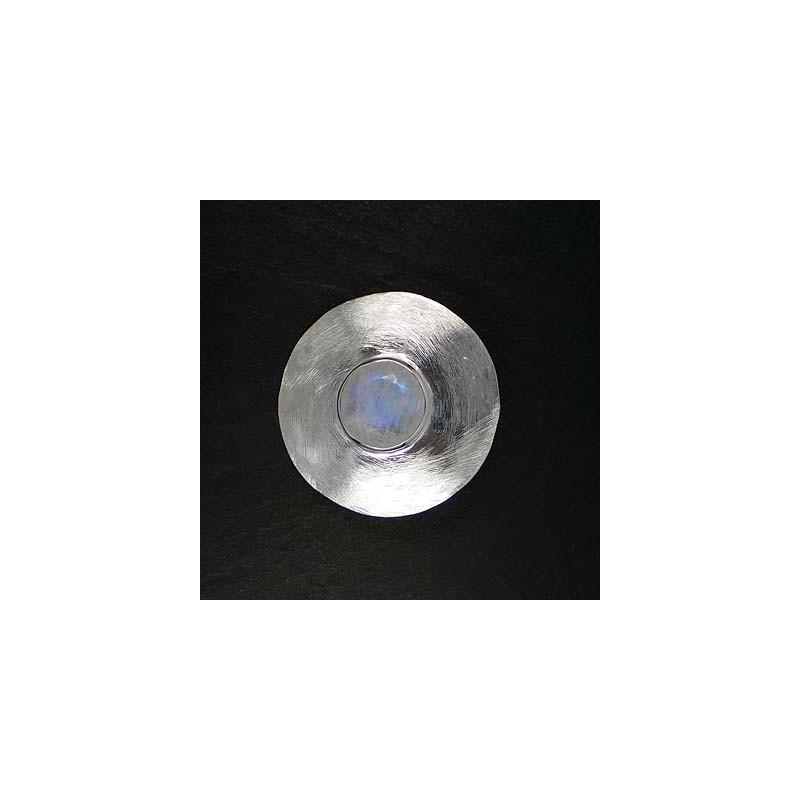 Mondsteinanhänger rund