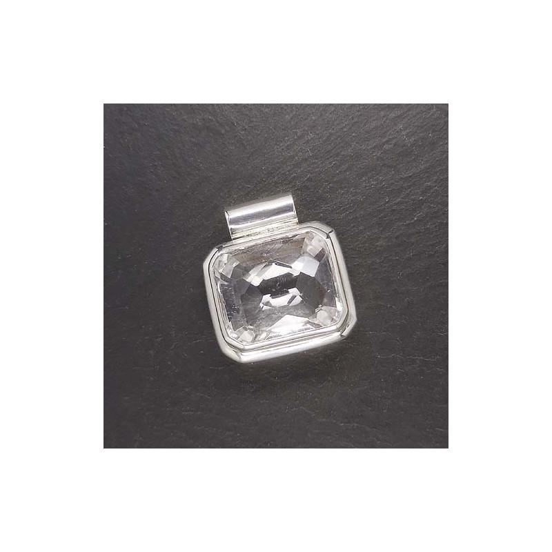 Bergkristallanhänger eckig (S9)