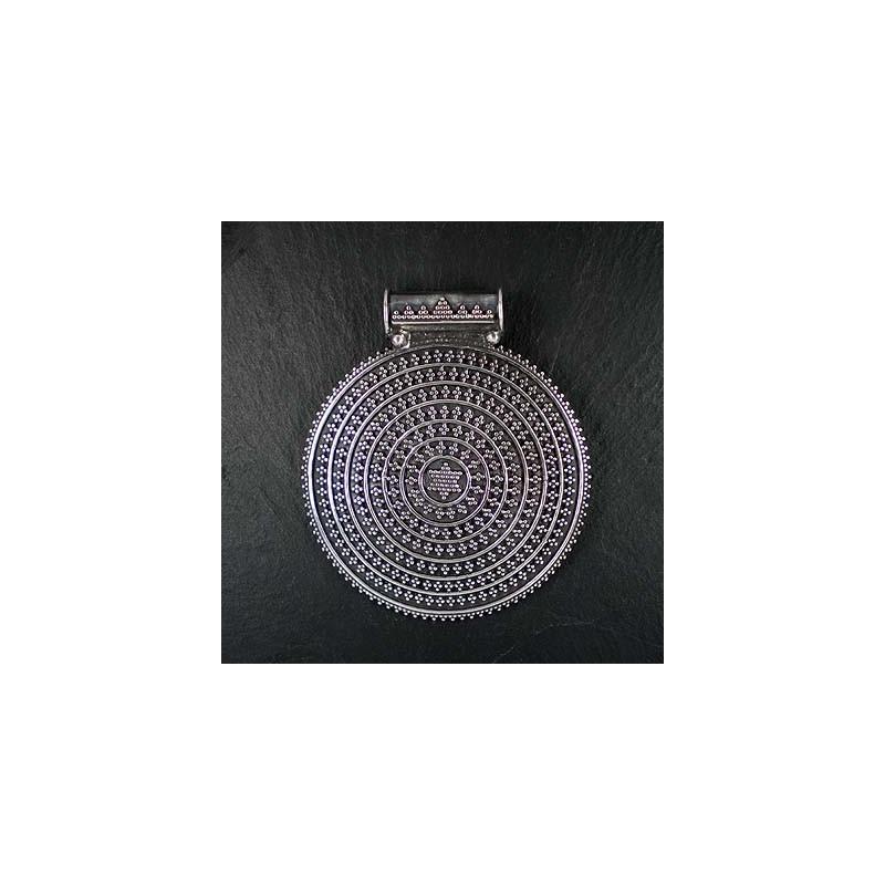 Silberanhänger indisch