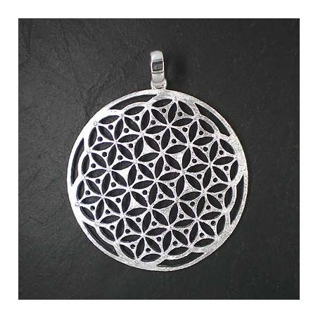Silberanhänger Mandala