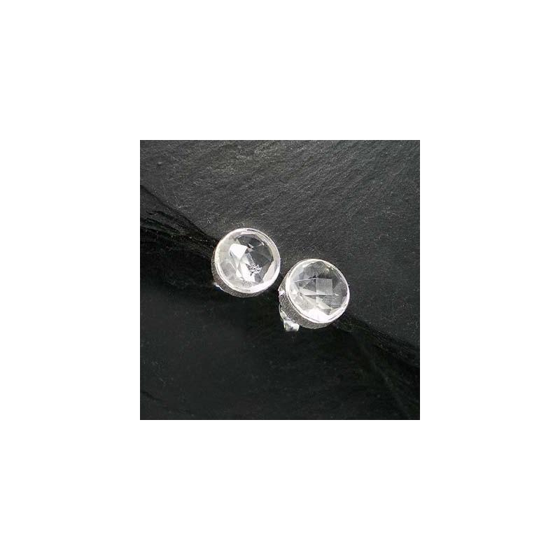 Ohrstecker mit Bergkristall