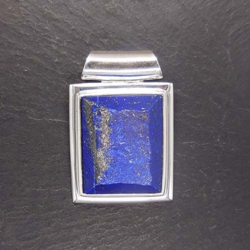Lapis Lazuli Anhänger eckig (S9)