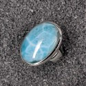 Larimar Ring oval