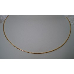 Halsreif vergoldet 1,9mm