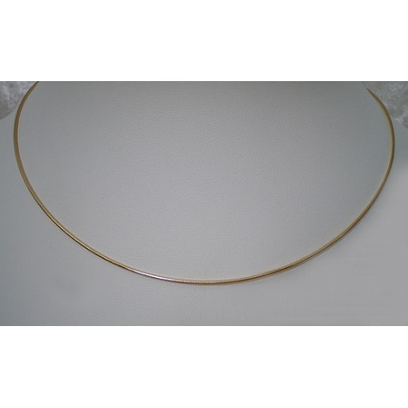 Halsreif vergoldet 1,3mm