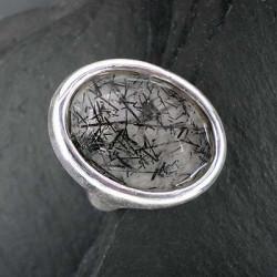Turmalinquarz-Ring