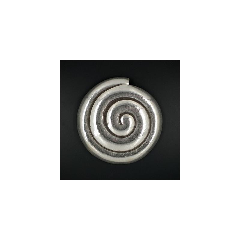 Silberanhänger Schnecke rund