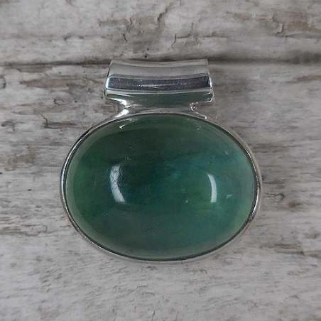 Fluoritanhänger oval (S9)