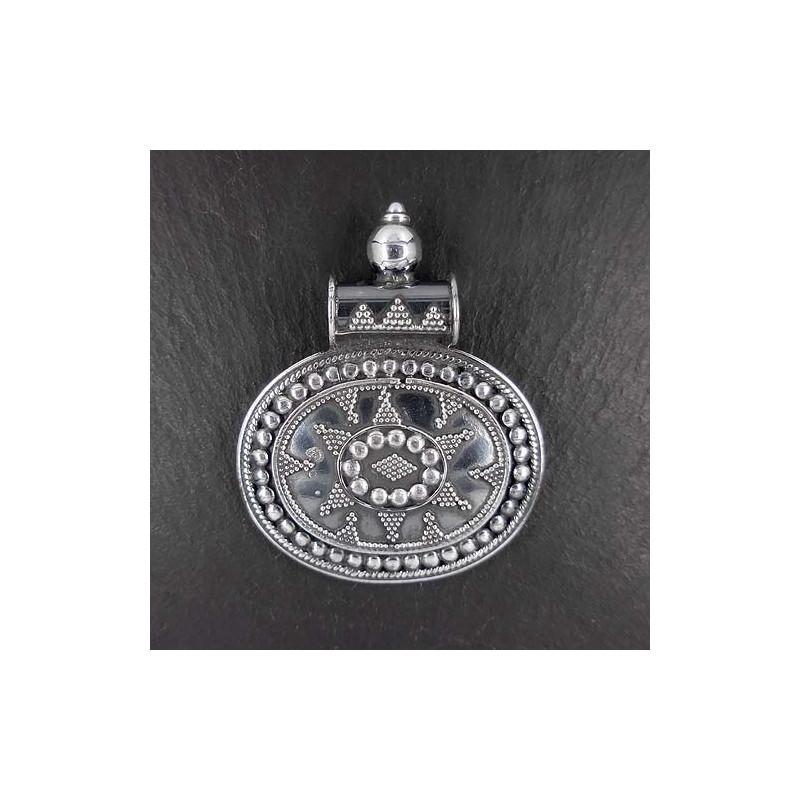 Silberanhänger indisch 5
