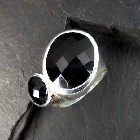 Onyx Ring (2 Steine)