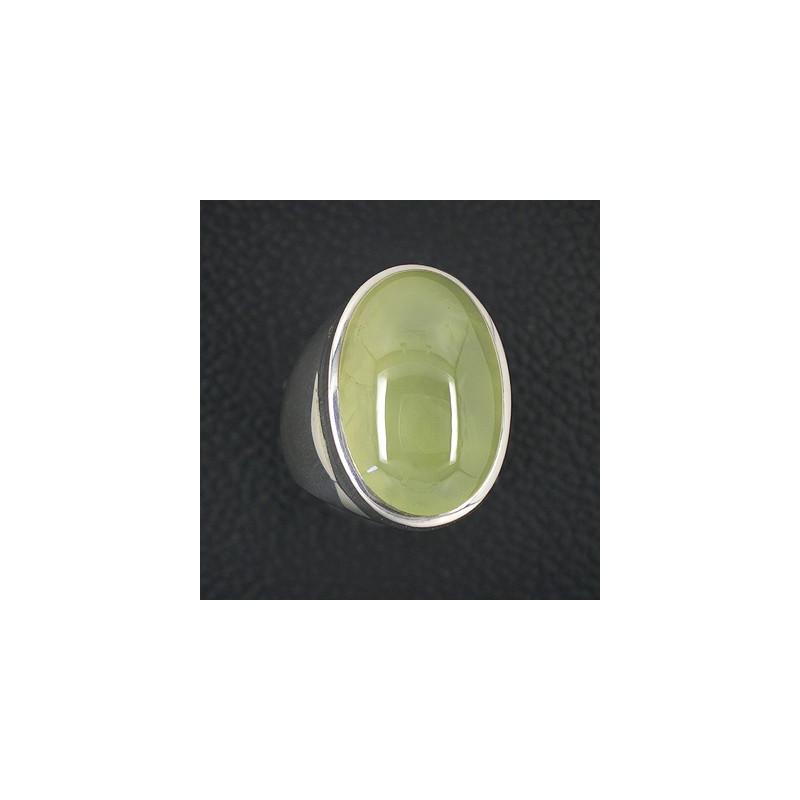 Prehnit Ring Oval