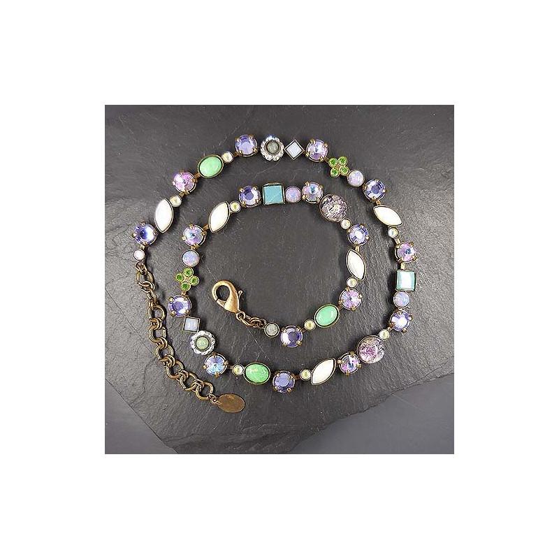 Halskette Miracolo Flieder