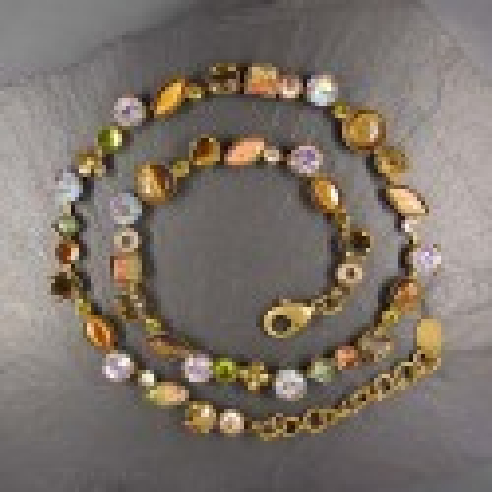 Halskette Miracolo Braun