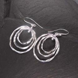 Silberohrringe Ringe