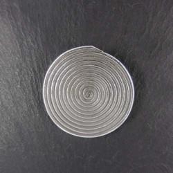 Silberanhänger Spirale klein