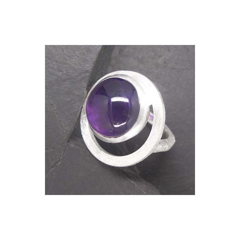 Amethyst Ring (TR gebürstet)