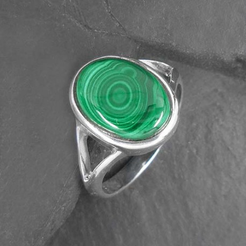 Malachit Ring