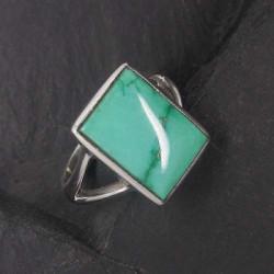 Türkis Ring (SR eckig)
