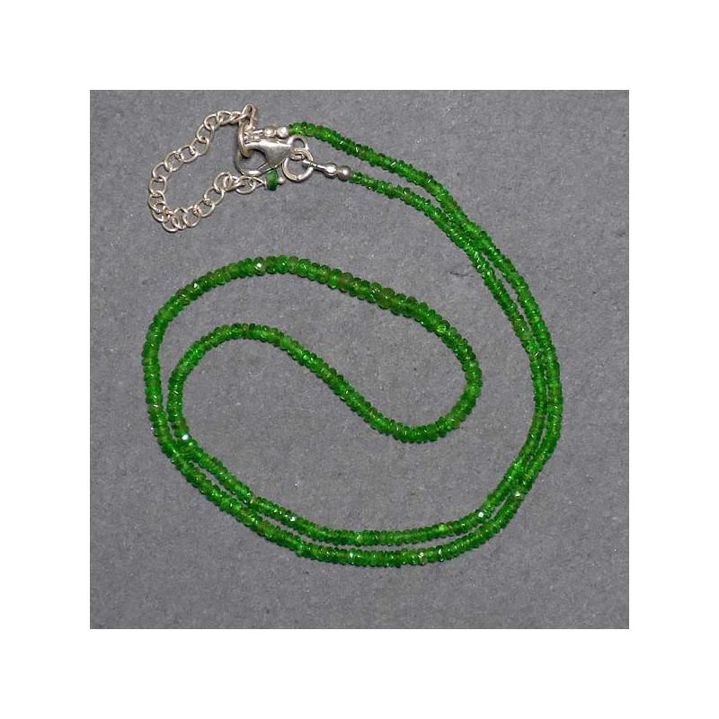 Tsavoritkette (grüner Granat)