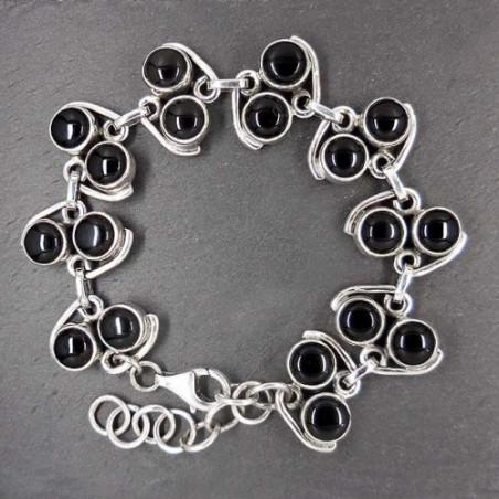 Armband mit Onyx