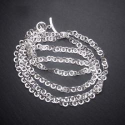 Silbercollier Ringe