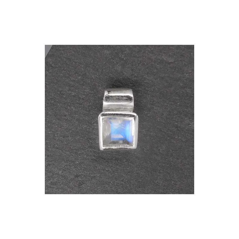 Mondsteinanhänger eckig mini(S9)