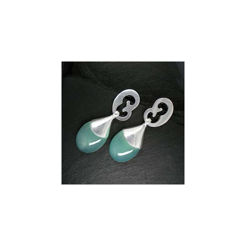 Ohrringe mit Calcit