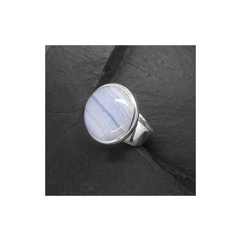 Chalcedon Ring rund
