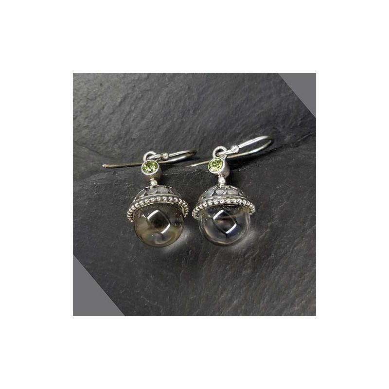 Ohrringe mit Bergkristall