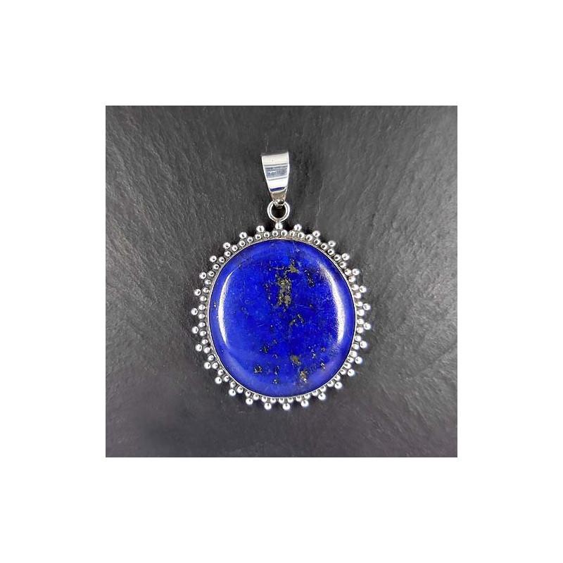 """Lapis Lazuli Anhänger """"Rund"""""""