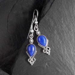 Lapis Lazuli Ohrringe Tropfen
