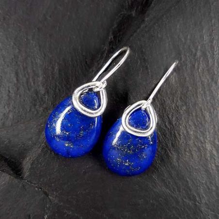 Lapis Lazuli Ohrringe Tropfen (OT)