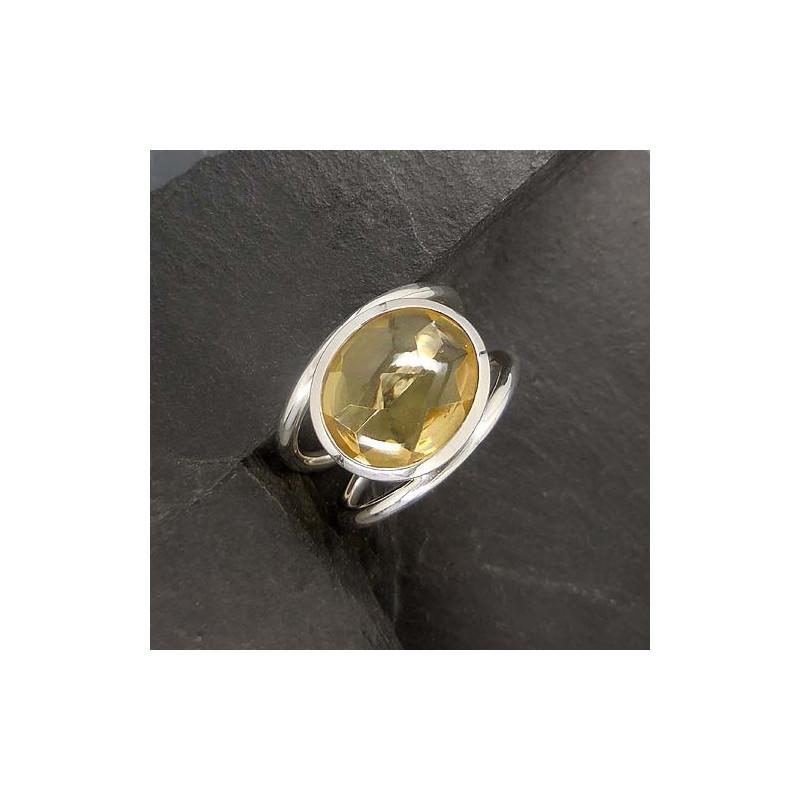 Citrin Ring Oval