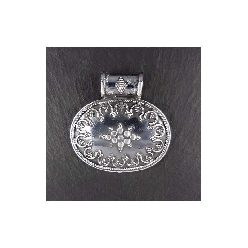 Silberanhänger Geschwärzt