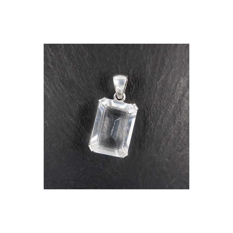 Bergkristall Anhänger eckig (S9)