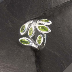 Peridot Ring Multi