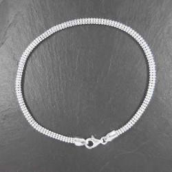 Silber-Armband Matt